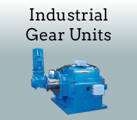 Industrial gear units box