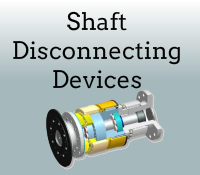 Shaft disconneting devices box